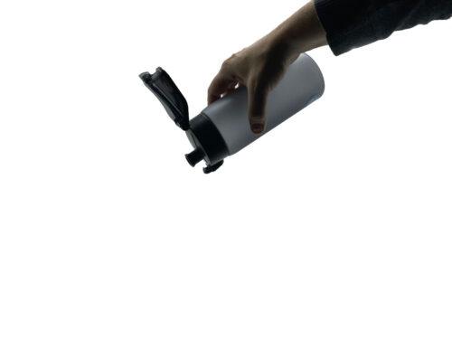 Пляшка для води CASNO 550 мл KXN-1225 Чорна фото 3