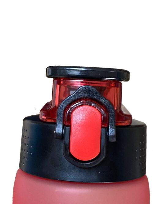 Пляшка для води CASNO 750 мл KXN-1226 Червона фото 6