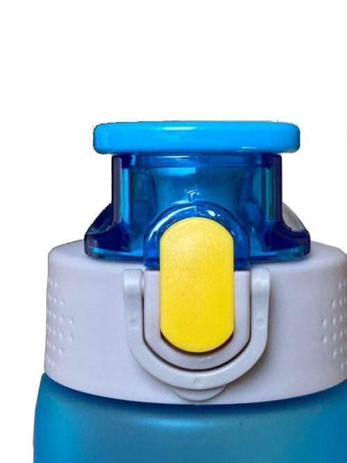 Пляшка для води CASNO 750 мл KXN-1226 Блакитна фото 7
