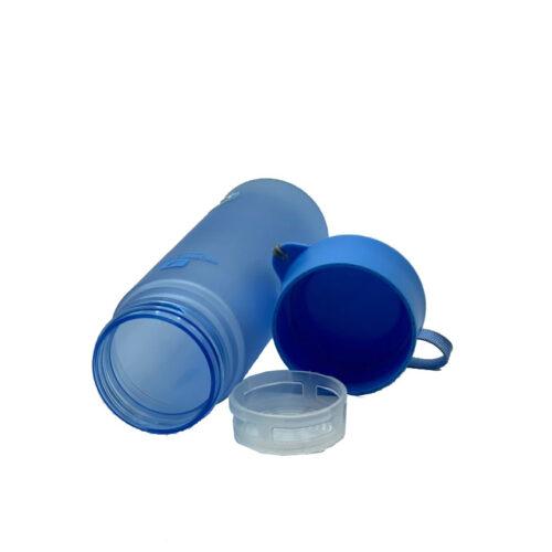 Пляшка для води CASNO 600 мл MX-5014 More Love Блакитна фото 2