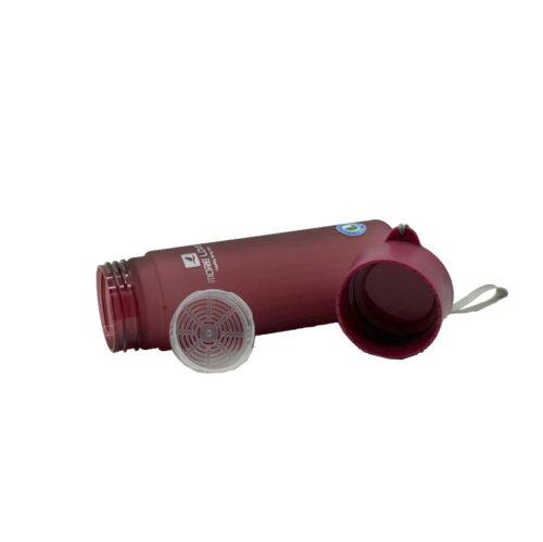 Пляшка для води CASNO 600 мл MX-5014 More Love Фіолетова фото 2