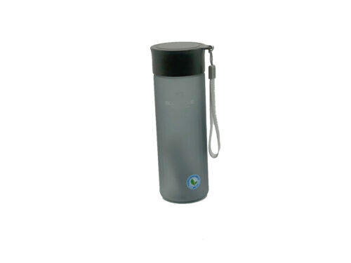 Пляшка для води CASNO 600 мл MX-5014 More Love Чорна фото 1