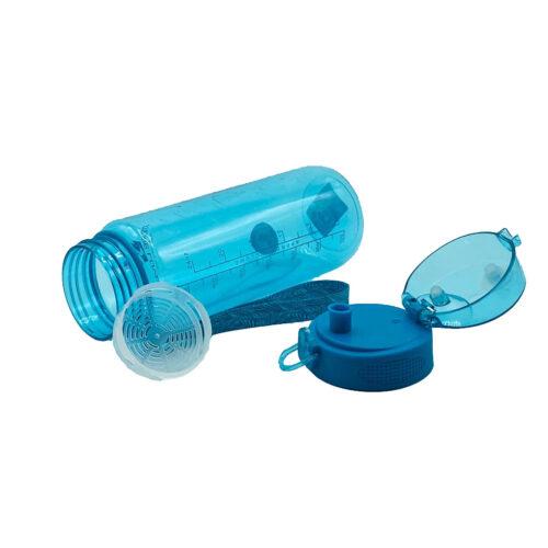 Пляшка для води CASNO 850 мл MX-5040 More Love Блакитна фото 5