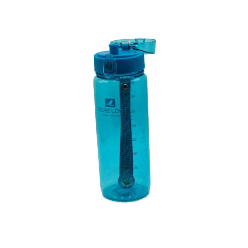 Пляшка для води CASNO 850 мл MX-5040 More Love Блакитна фото 6