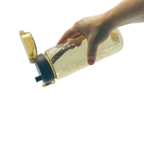 Пляшка для води CASNO 850 мл MX-5040 More Love Коричнева фото 3
