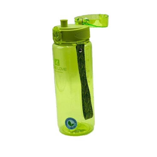 Пляшка для води CASNO 850 мл MX-5040 More Love Зелена фото 4