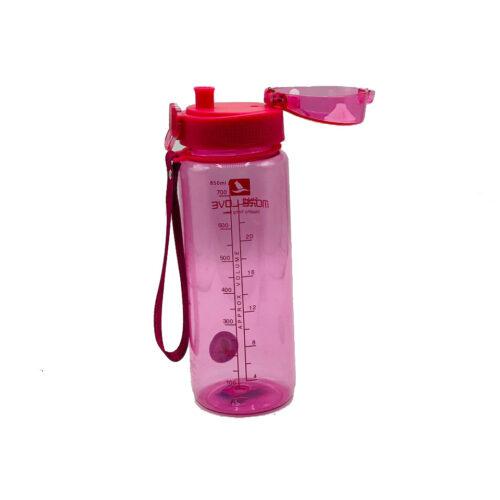 Пляшка для води CASNO 850 мл MX-5040 More Love Рожева фото 5