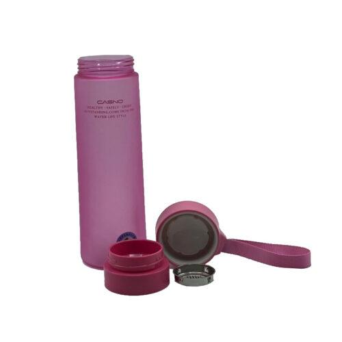 Пляшка для води CASNO 700 мл KXN-1156 Рожева фото 4