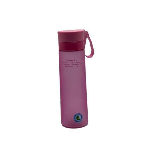 Пляшка для води CASNO 700 мл KXN-1156 Рожева фото 1