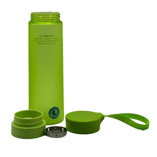 Пляшка для води CASNO 700 мл KXN-1156 Зелена фото 3