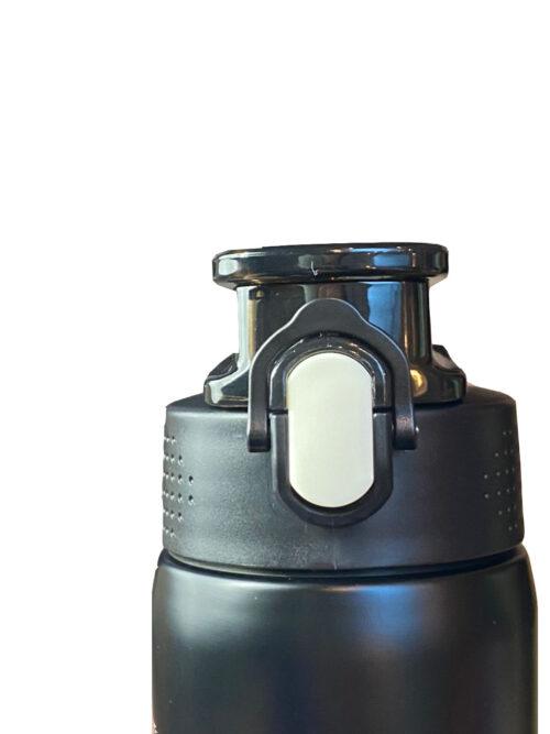 Термопляшка CASNO 450 мл KXN-6065 Чорна фото 3