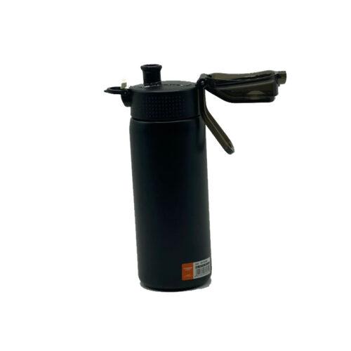 Термопляшка CASNO 450 мл KXN-6065 Чорна фото 6