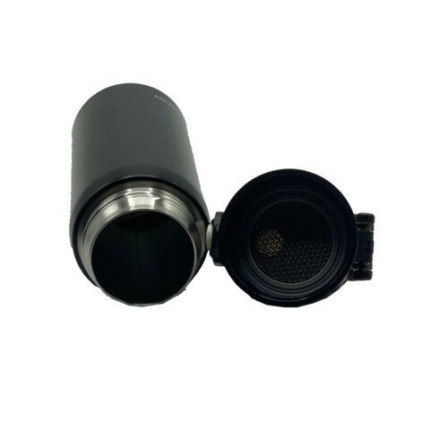 Термопляшка CASNO 450 мл KXN-6065 Чорна фото 7