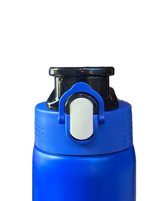 Термопляшка CASNO 450 мл KXN-6065 Синя фото 2