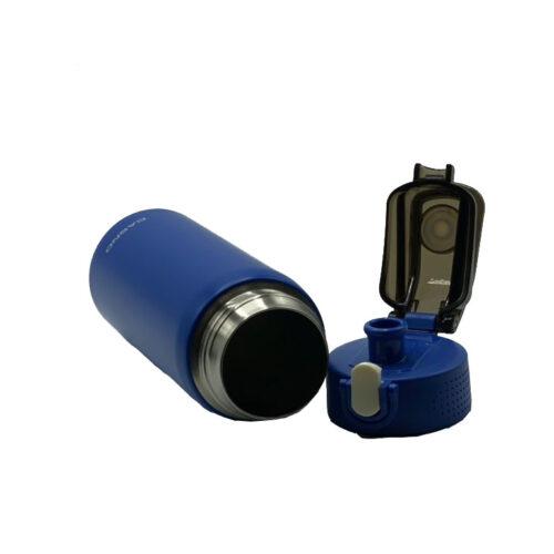 Термопляшка CASNO 450 мл KXN-6065 Синя фото 3