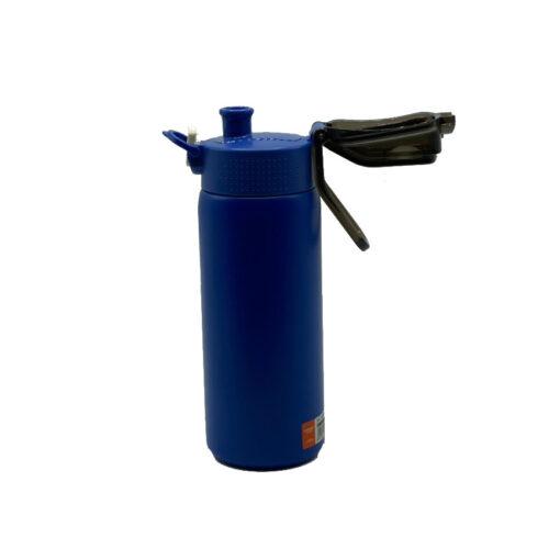 Термопляшка CASNO 450 мл KXN-6065 Синя фото 6