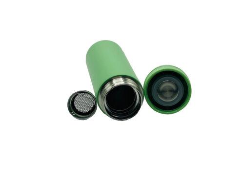 Термопляшка CASNO 450 мл KXN-6059 Зелена фото 5