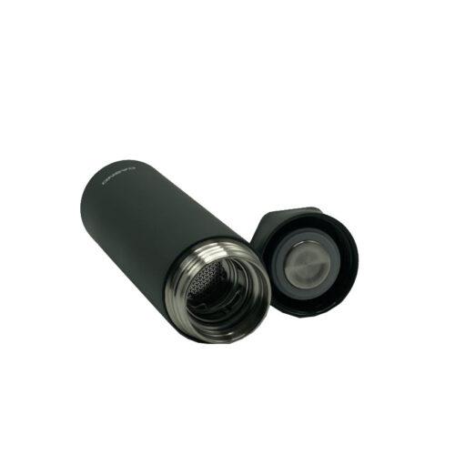 Термопляшка CASNO 450 мл KXN-6057 Чорна фото 4