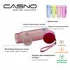 Пляшка для води CASNO 600 мл MX-5014 More Love Фіолетова фото 5