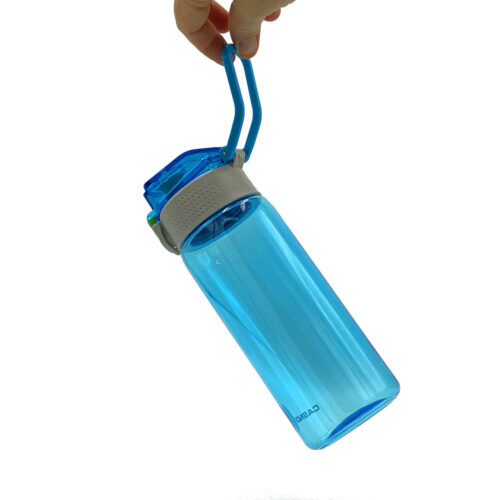 Пляшка для води CASNO 550 мл KXN-1215 Блакитна фото 7