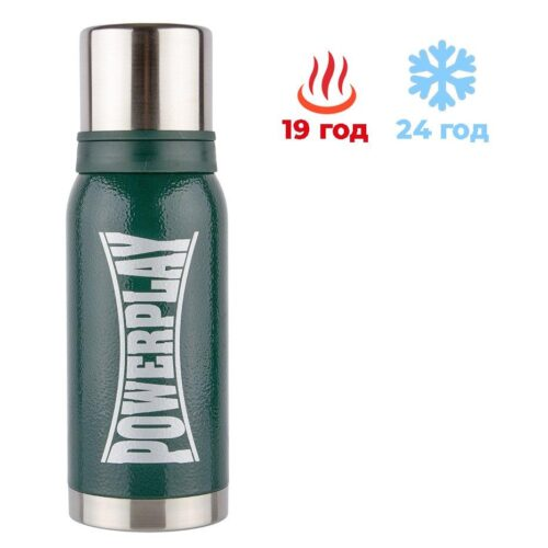 Термос PowerPlay 9001 Зелений 1000 мл фото 1