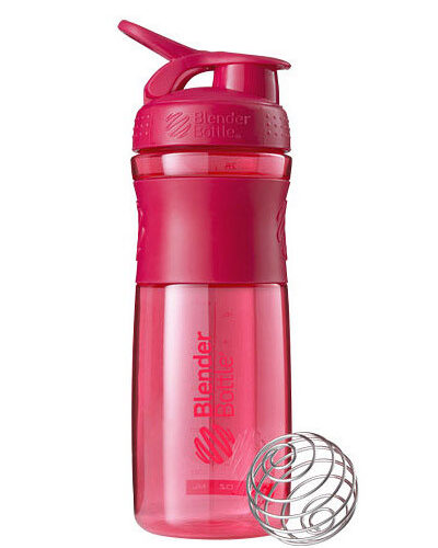 Спортивная бутылка-шейкер BlenderBottle SportMixer 28oz/820ml Pink FL (ORIGINAL) фото 1