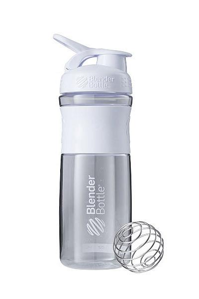 Спортивна пляшка-шейкер BlenderBottle SportMixer 28oz/820ml White (ORIGINAL) фото 1
