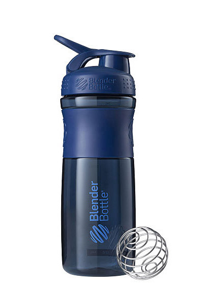 Спортивная бутылка-шейкер BlenderBottle SportMixer 28oz/820ml Navy (ORIGINAL) фото 1