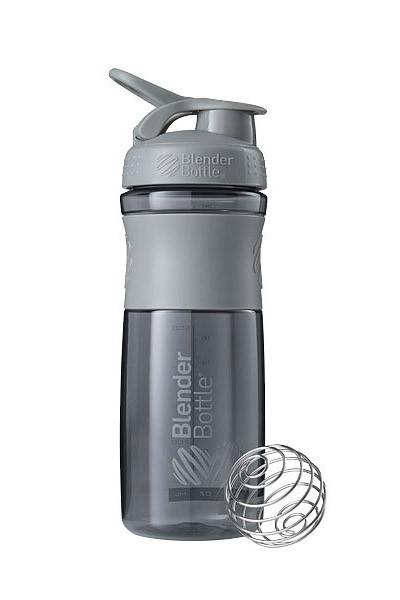 Спортивна пляшка-шейкер BlenderBottle SportMixer 28oz/820ml Grey (ORIGINAL) фото 1