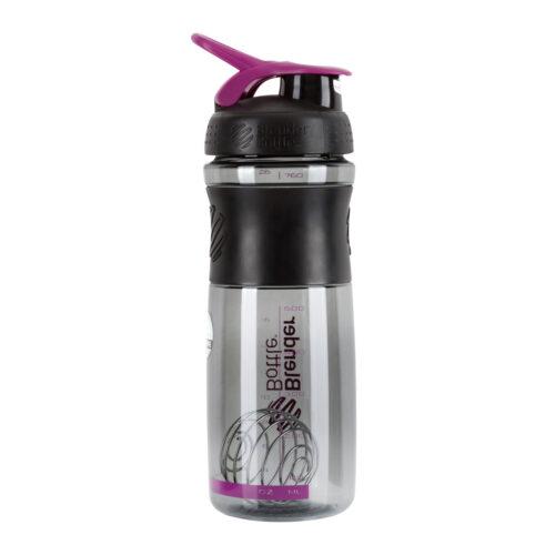 Спортивна пляшка-шейкер BlenderBottle SportMixer 28oz/820ml Black/Plum (ORIGINAL) фото 7