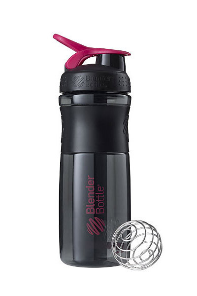Спортивна пляшка-шейкер BlenderBottle SportMixer 28oz/820ml Black/Pink (ORIGINAL) фото 1
