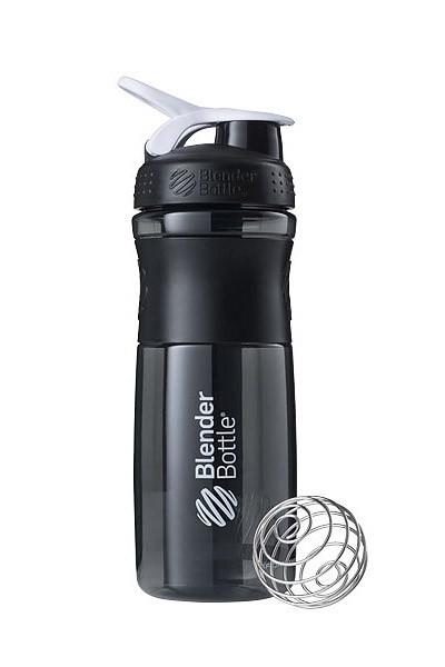 Спортивна пляшка-шейкер BlenderBottle SportMixer 28oz/820ml Black/White (ORIGINAL) фото 1