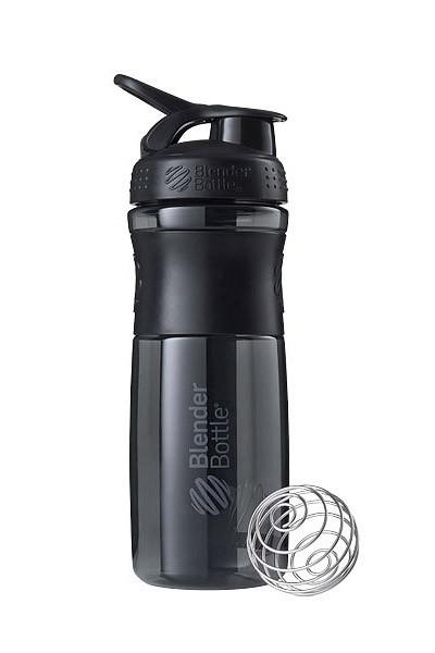 Спортивна пляшка-шейкер BlenderBottle SportMixer 28oz/820ml Black (ORIGINAL) фото 1