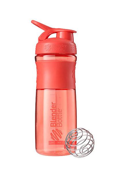 Спортивна пляшка-шейкер BlenderBottle SportMixer 28oz/820ml Coral (ORIGINAL) фото 1
