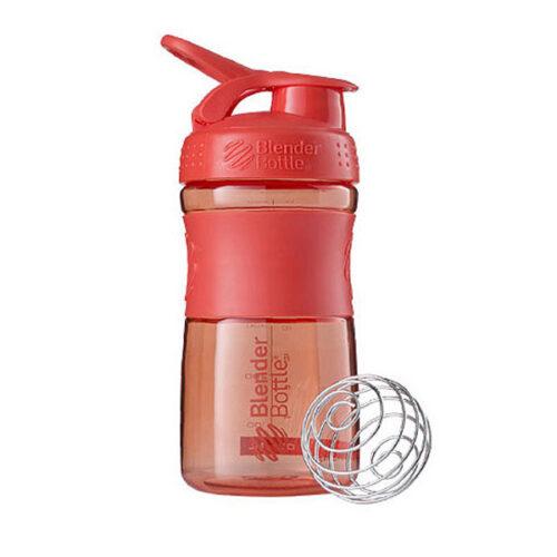 Спортивна пляшка-шейкер BlenderBottle SportMixer 20oz/590ml Coral (ORIGINAL) фото 1