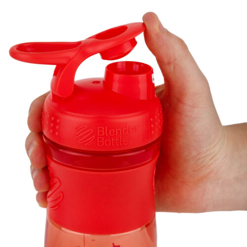 Спортивна пляшка-шейкер BlenderBottle SportMixer 20oz/590ml Coral (ORIGINAL) фото 2