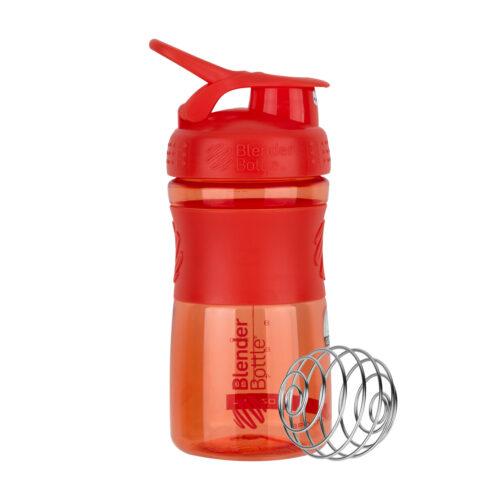 Спортивна пляшка-шейкер BlenderBottle SportMixer 20oz/590ml Coral (ORIGINAL) фото 7