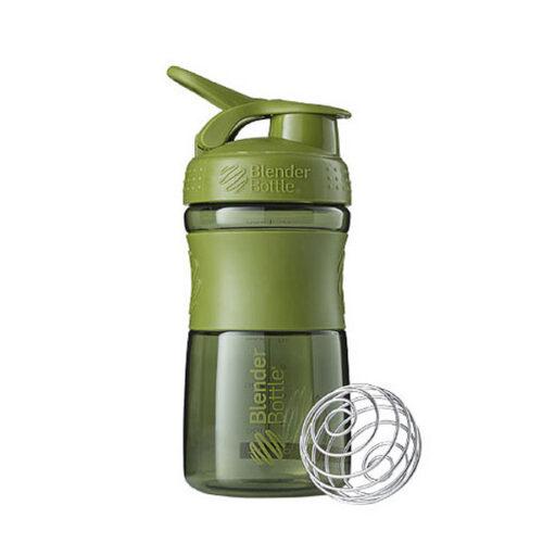 Спортивна пляшка-шейкер BlenderBottle SportMixer 20oz/590ml Moss Green (ORIGINAL) фото 1