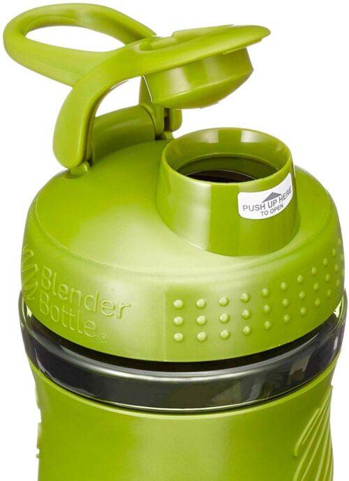 Спортивна пляшка-шейкер BlenderBottle SportMixer 20oz/590ml Moss Green (ORIGINAL) фото 2