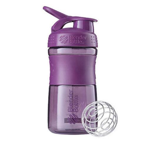 Спортивна пляшка-шейкер BlenderBottle SportMixer 20oz/590ml Plum (ORIGINAL) фото 1