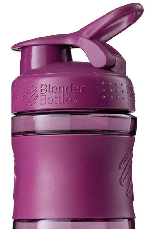 Спортивна пляшка-шейкер BlenderBottle SportMixer 20oz/590ml Plum (ORIGINAL) фото 3