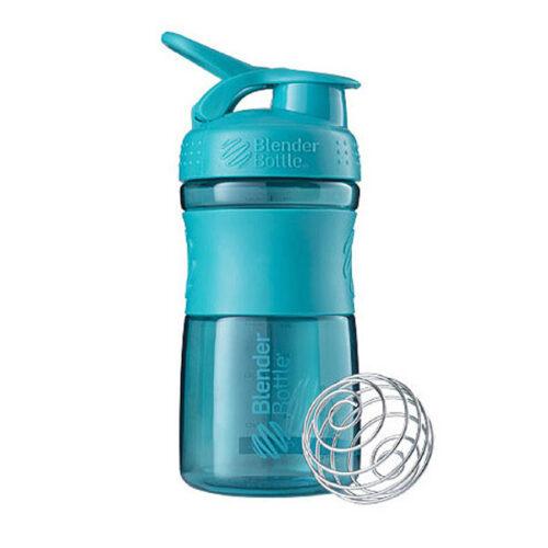 Спортивна пляшка-шейкер BlenderBottle SportMixer 20oz/590ml Teal (ORIGINAL) фото 1