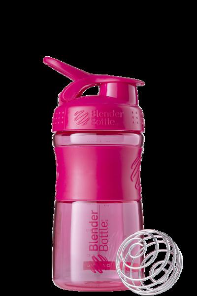 Спортивна пляшка-шейкер BlenderBottle SportMixer 20oz/590ml Pink FL (ORIGINAL) фото 1