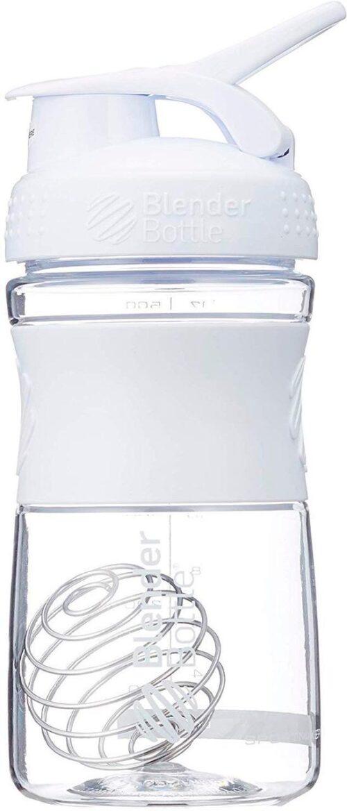 Спортивна пляшка-шейкер BlenderBottle SportMixer 20oz/590ml White (ORIGINAL) фото 3