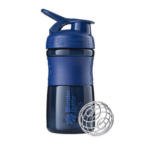 Спортивна пляшка-шейкер BlenderBottle SportMixer 20oz/590ml Navy (ORIGINAL) фото 1