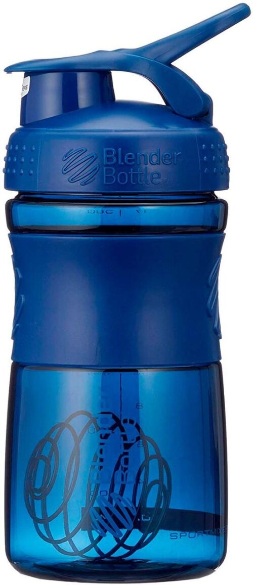 Спортивна пляшка-шейкер BlenderBottle SportMixer 20oz/590ml Navy (ORIGINAL) фото 3