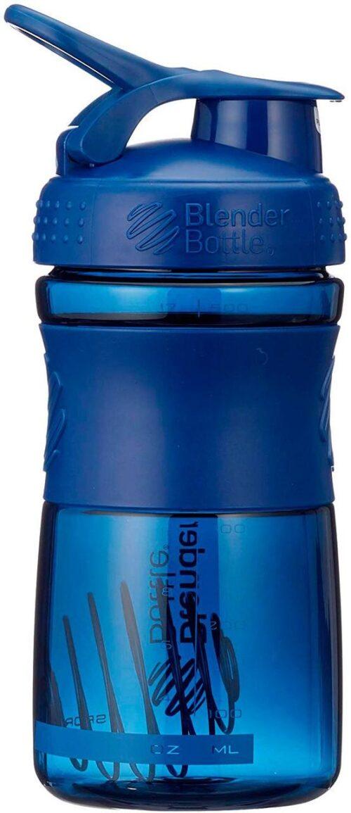 Спортивна пляшка-шейкер BlenderBottle SportMixer 20oz/590ml Navy (ORIGINAL) фото 4