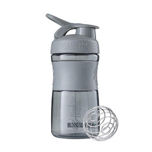 Спортивна пляшка-шейкер BlenderBottle SportMixer 20oz/590ml Grey (ORIGINAL) фото 1