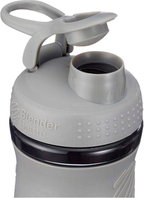 Спортивна пляшка-шейкер BlenderBottle SportMixer 20oz/590ml Grey (ORIGINAL) фото 2