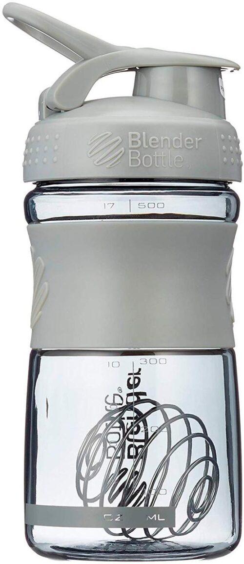 Спортивна пляшка-шейкер BlenderBottle SportMixer 20oz/590ml Grey (ORIGINAL) фото 3